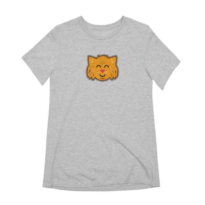 Maine Coon Cat Women's Extra Soft T-Shirt by Eddie Fieg Graphic Design and Illustration