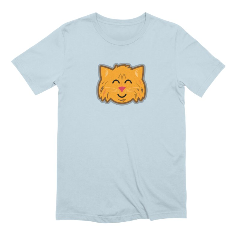 Maine Coon Cat Men's Extra Soft T-Shirt by Eddie Fieg Graphic Design and Illustration