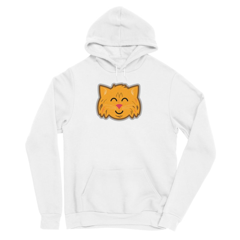 Maine Coon Cat Men's Sponge Fleece Pullover Hoody by Eddie Fieg Graphic Design and Illustration