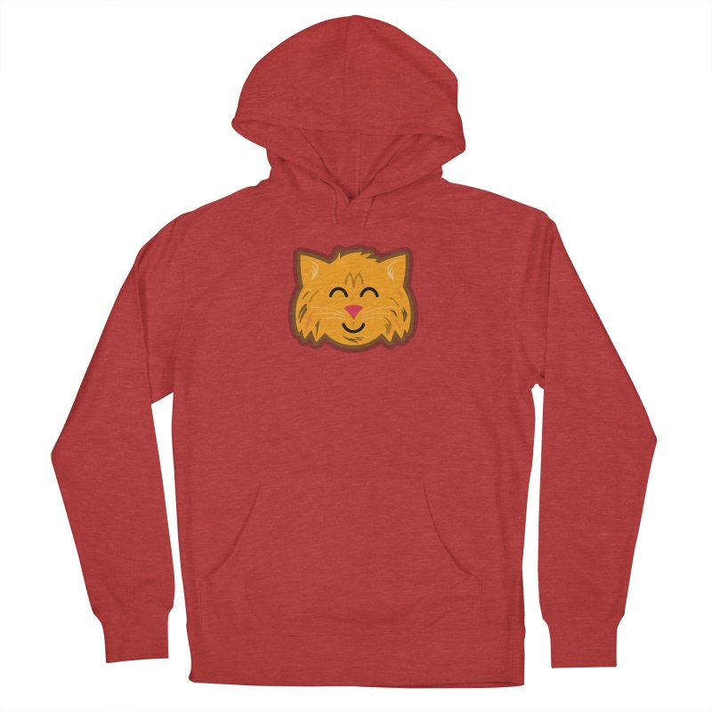Maine Coon Cat Women's French Terry Pullover Hoody by Eddie Fieg Graphic Design and Illustration