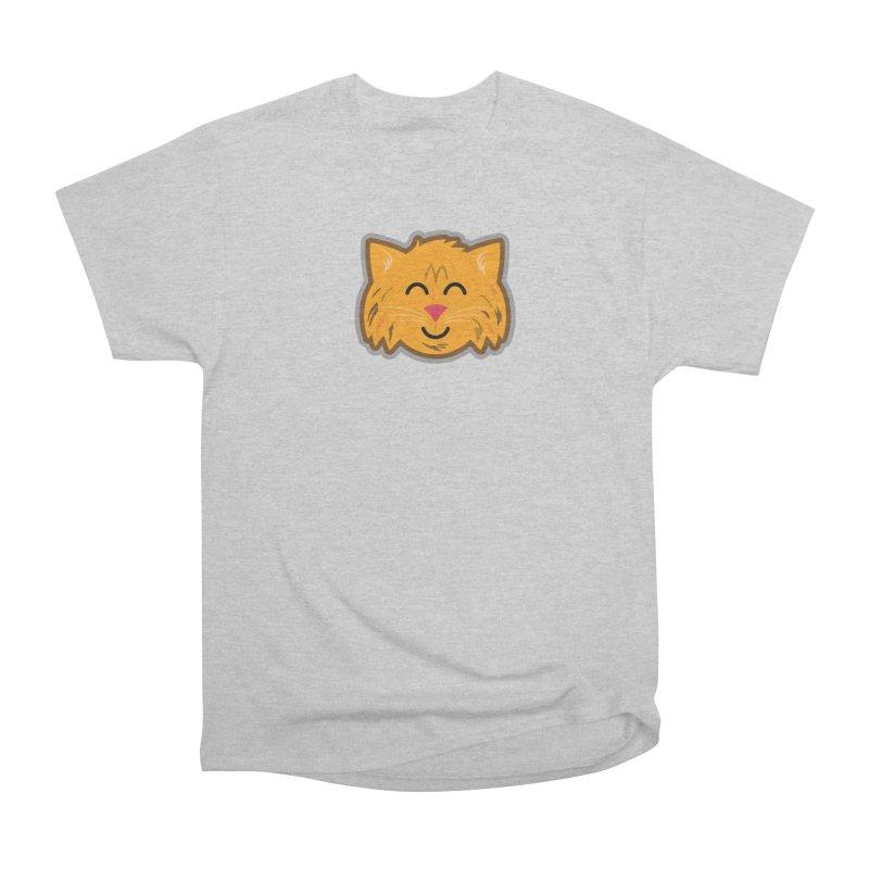 Maine Coon Cat Men's Heavyweight T-Shirt by Eddie Fieg Graphic Design and Illustration