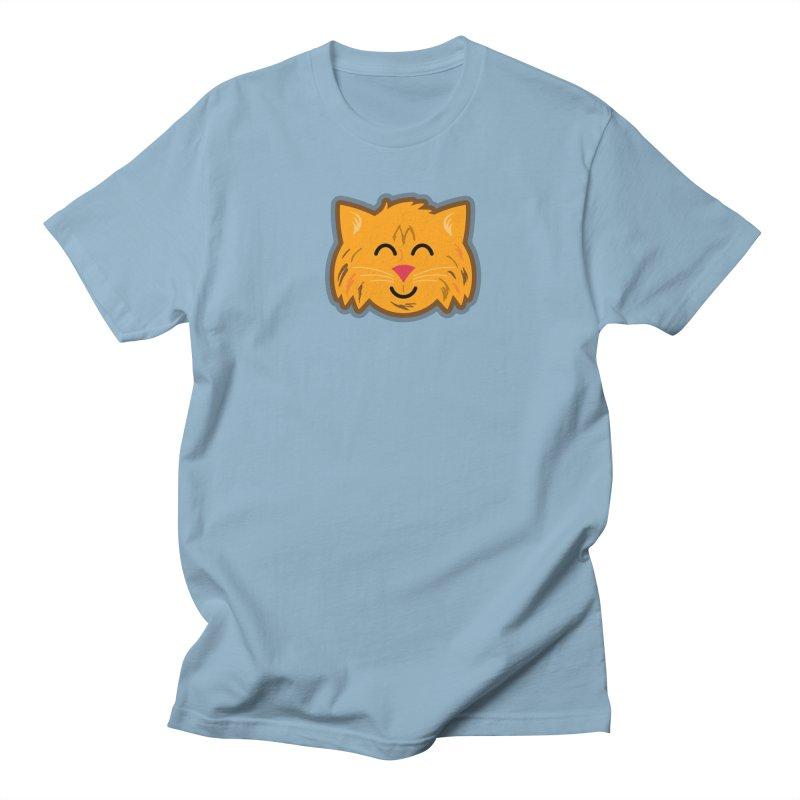 Maine Coon Cat Men's Regular T-Shirt by Eddie Fieg Graphic Design and Illustration