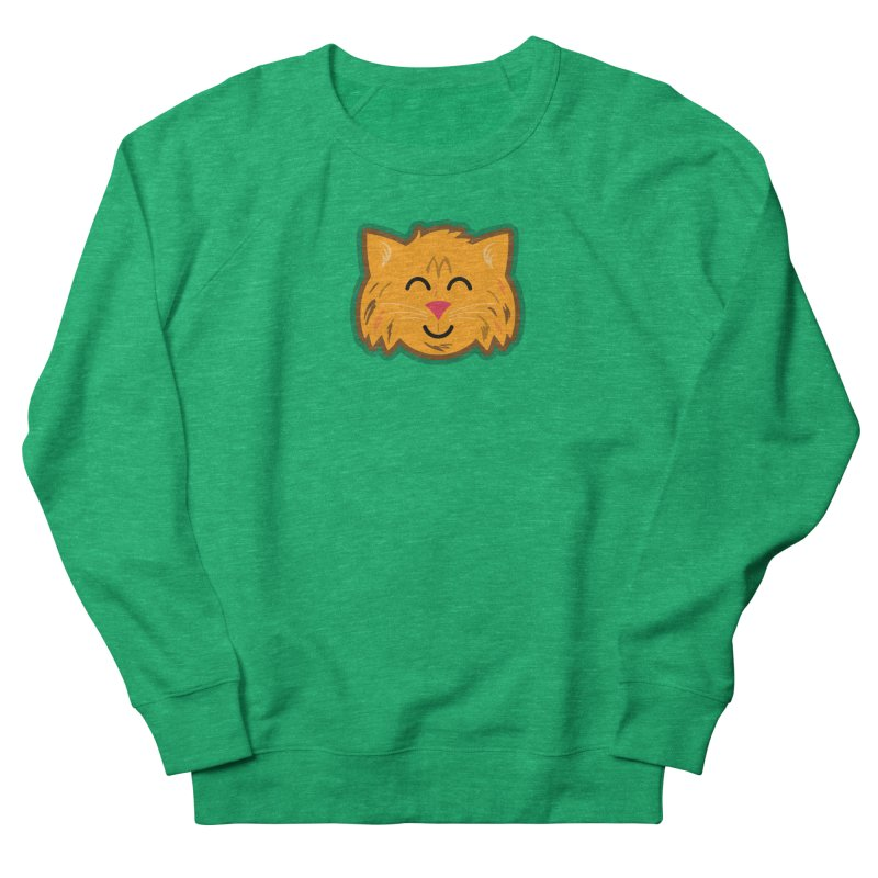 Maine Coon Cat Women's French Terry Sweatshirt by Eddie Fieg Graphic Design and Illustration