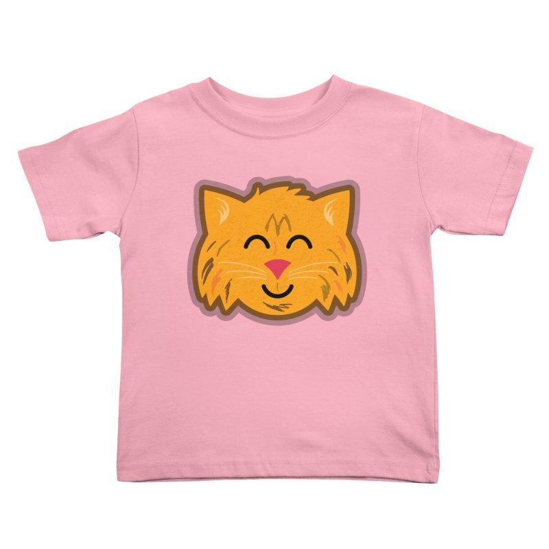 Maine Coon Cat Kids Toddler T-Shirt by Eddie Fieg Graphic Design and Illustration