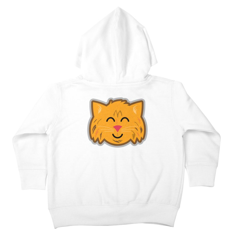 Maine Coon Cat Kids Toddler Zip-Up Hoody by Eddie Fieg Graphic Design and Illustration