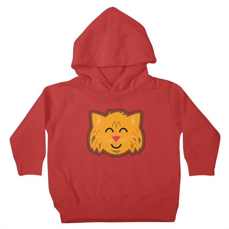 Maine Coon Cat Kids Toddler Pullover Hoody by Eddie Fieg Graphic Design and Illustration