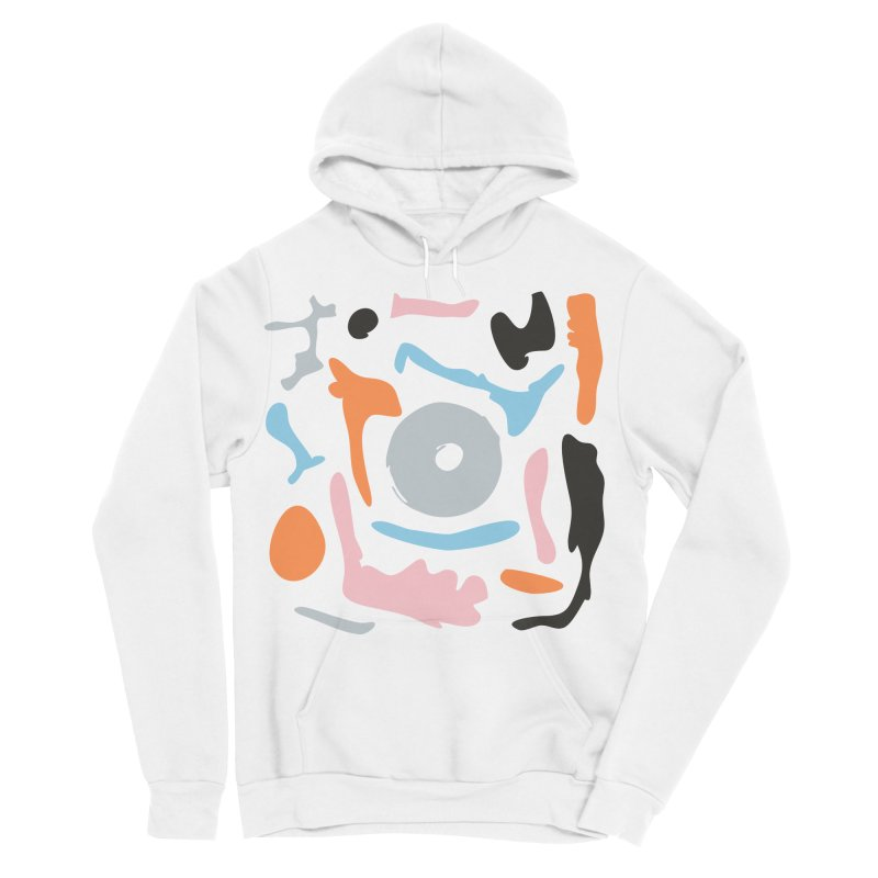 Abstract Design Experiment Men's Sponge Fleece Pullover Hoody by Eddie Fieg Graphic Design and Illustration