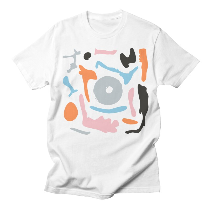 Abstract Design Experiment Men's T-Shirt by Eddie Fieg Graphic Design and Illustration