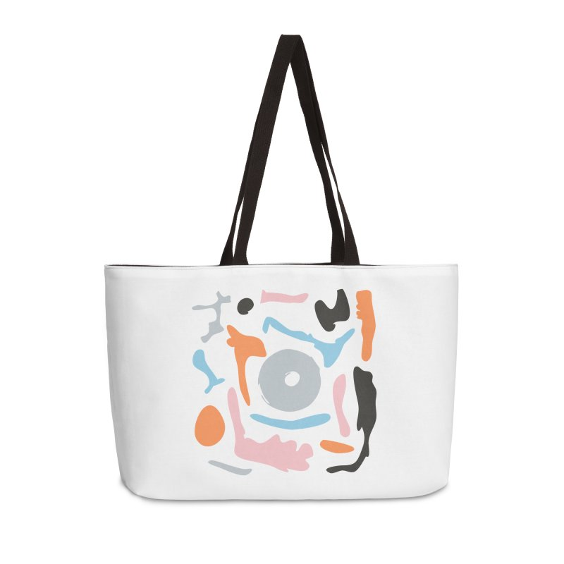 Abstract Design Experiment Accessories Weekender Bag Bag by Eddie Fieg Graphic Design and Illustration