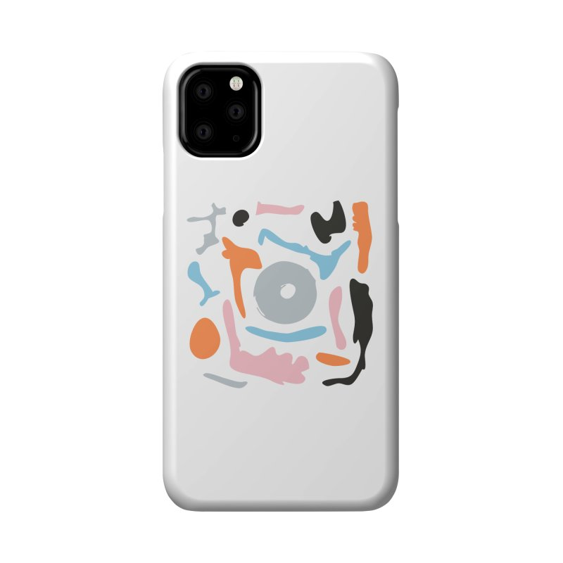 Abstract Design Experiment Accessories Phone Case by Eddie Fieg Graphic Design and Illustration