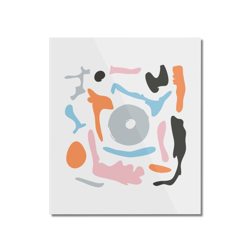 Abstract Design Experiment Home Mounted Acrylic Print by Eddie Fieg Graphic Design and Illustration