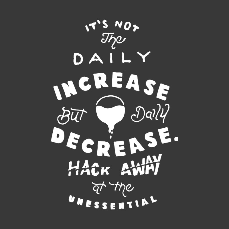 Hack Away at the Unnessential Men's V-Neck by eddymumbles's Artist Shop