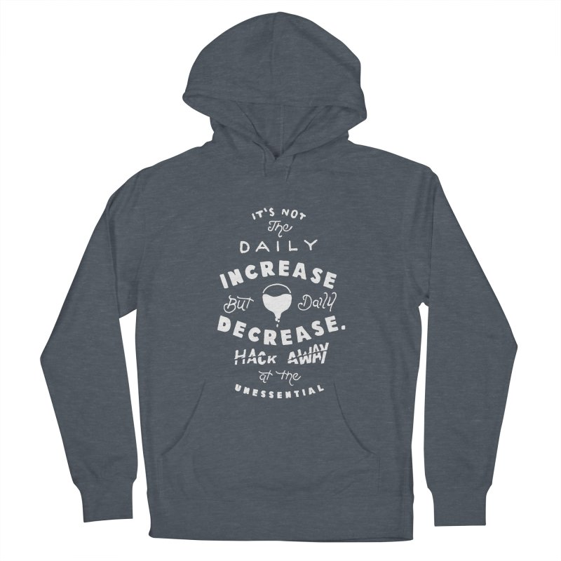 Hack Away at the Unnessential Men's Pullover Hoody by eddymumbles's Artist Shop