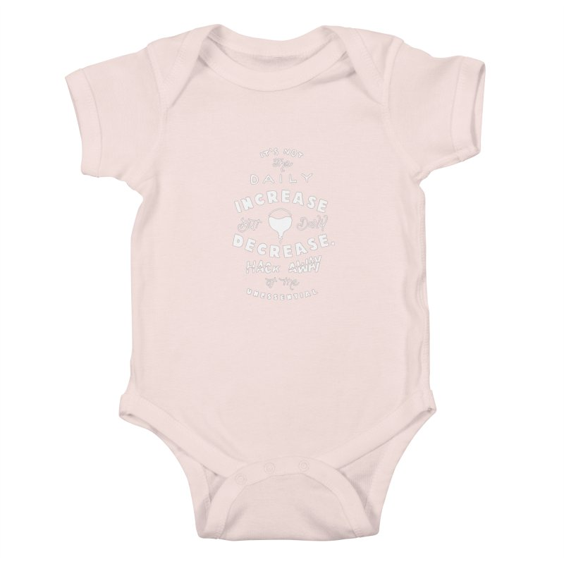 Hack Away at the Unnessential Kids Baby Bodysuit by eddymumbles's Artist Shop