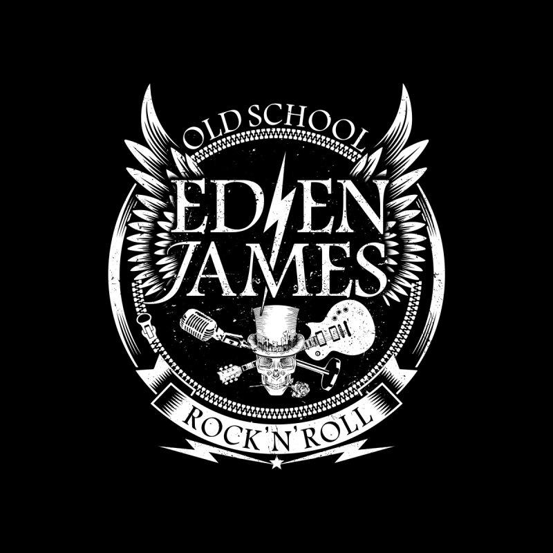 Old School Rock 'N' Roll - Kids Tee - Black by Eden James Merch Shop