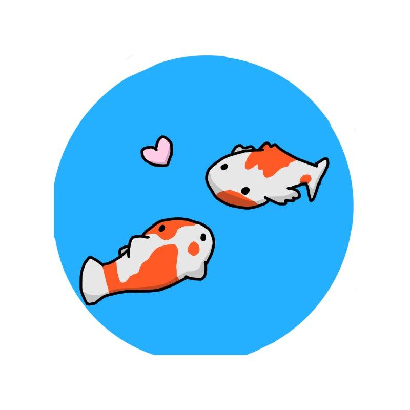Koi Bois Accessories Sticker by edensart's Artist Shop