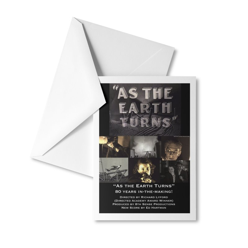 As the Earth Turns (Poster Art) Accessories Greeting Card by EdHartmanMusic Swag Shop!