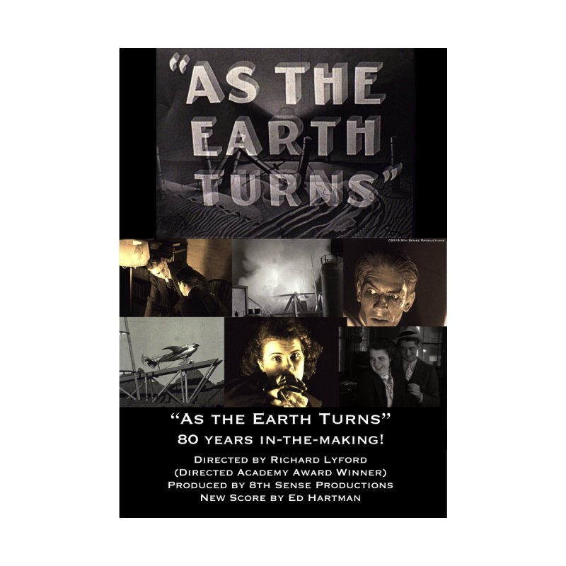 As the Earth Turns (Poster Art) Accessories Magnet by EdHartmanMusic Swag Shop!