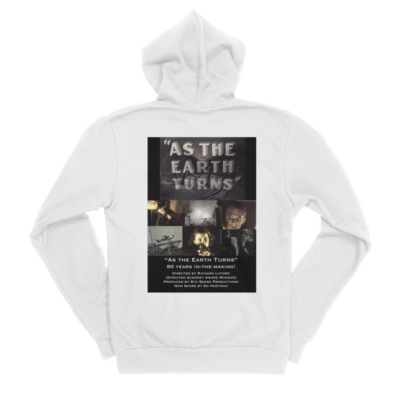 As the Earth Turns (Poster Art) Women's Sponge Fleece Zip-Up Hoody by EdHartmanMusic Swag Shop!