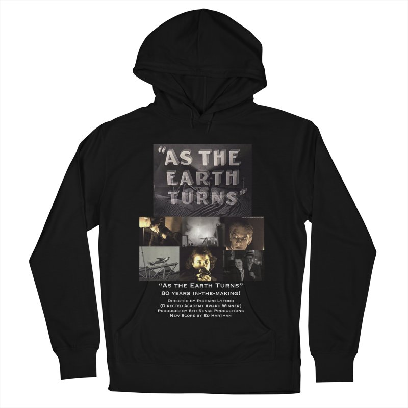 As the Earth Turns (Poster Art) Women's French Terry Pullover Hoody by EdHartmanMusic Swag Shop!