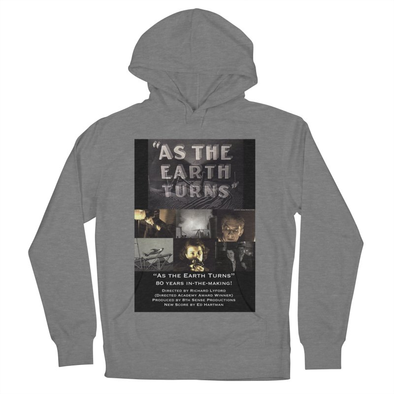 As the Earth Turns (Poster Art) Men's French Terry Pullover Hoody by EdHartmanMusic Swag Shop!