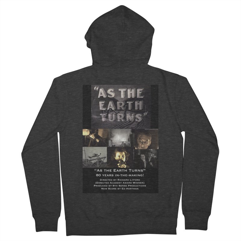 As the Earth Turns (Poster Art) Men's French Terry Zip-Up Hoody by EdHartmanMusic Swag Shop!