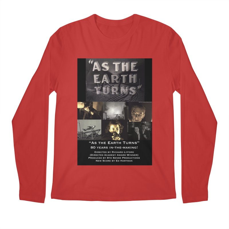 As the Earth Turns (Poster Art) Men's Regular Longsleeve T-Shirt by EdHartmanMusic Swag Shop!