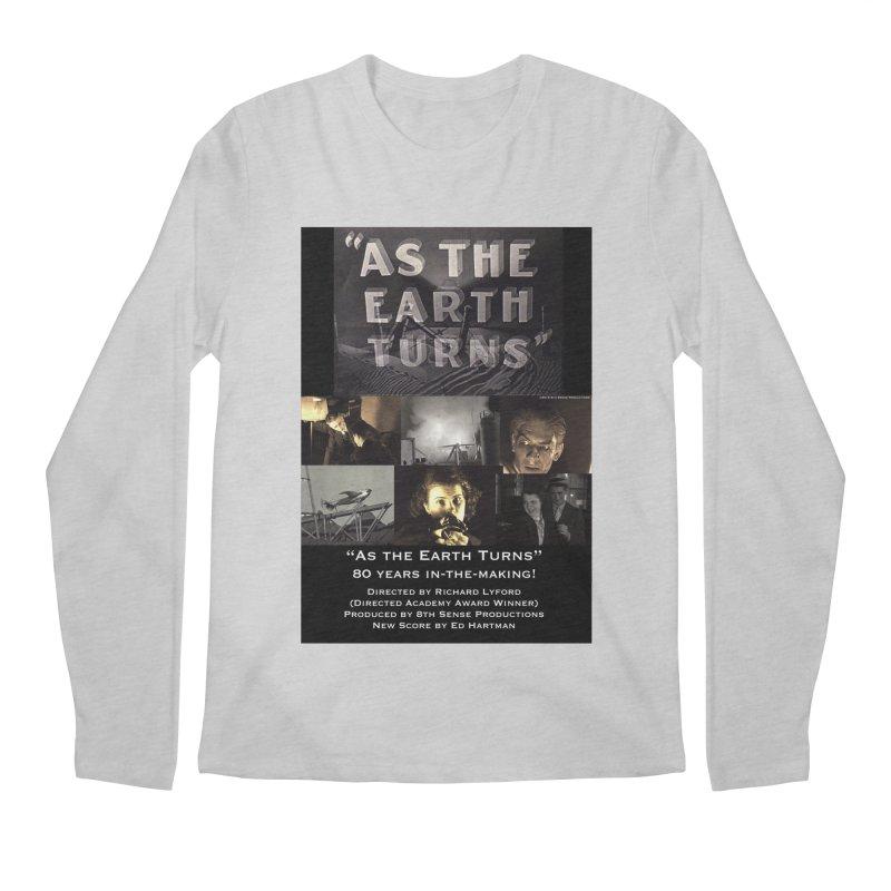 As the Earth Turns (Poster Art) Men's Regular Longsleeve T-Shirt by EdHartmanMusic Swag Shop!