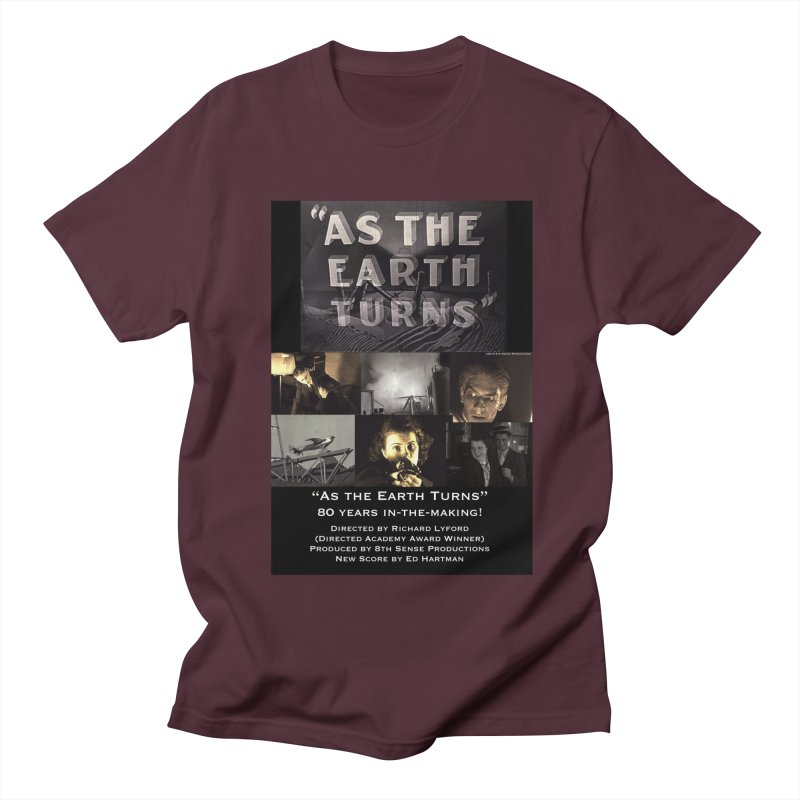 As the Earth Turns (Poster Art) Men's T-Shirt by EdHartmanMusic Swag Shop!
