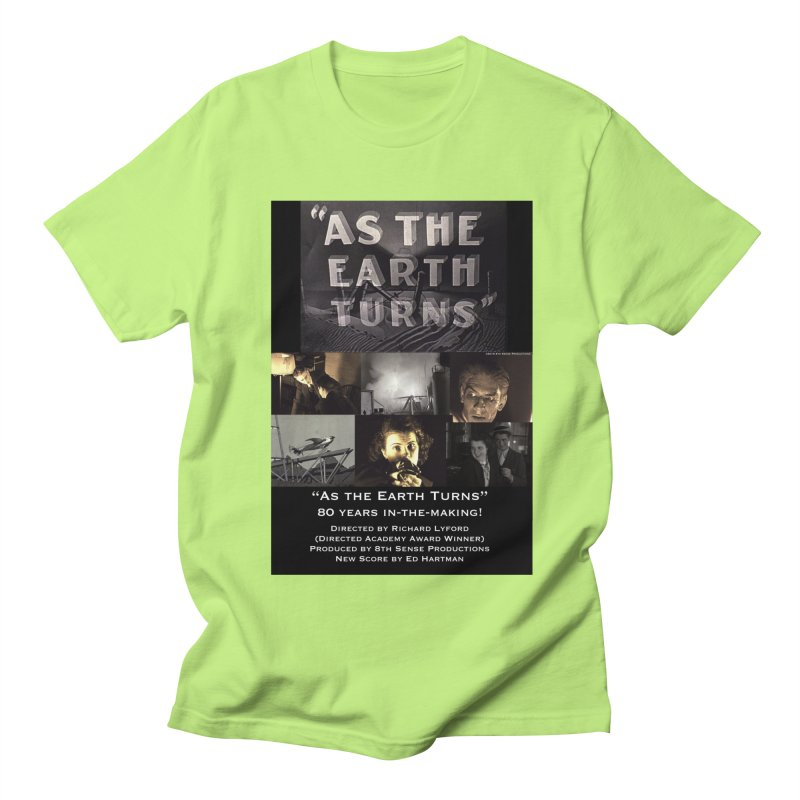 As the Earth Turns (Poster Art) Men's Regular T-Shirt by EdHartmanMusic Swag Shop!