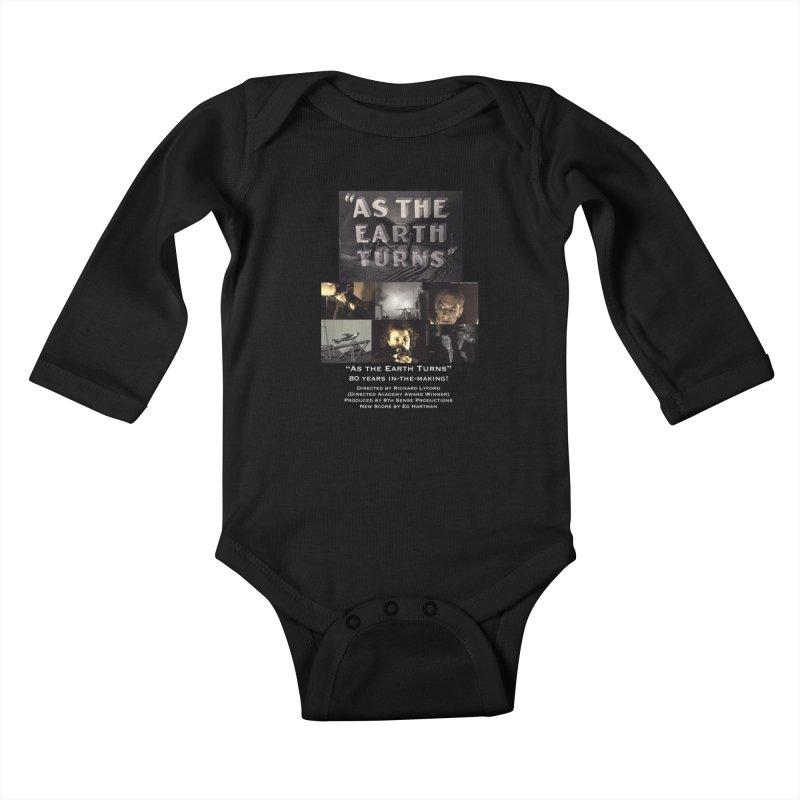 As the Earth Turns (Poster Art) Kids Baby Longsleeve Bodysuit by EdHartmanMusic Swag Shop!