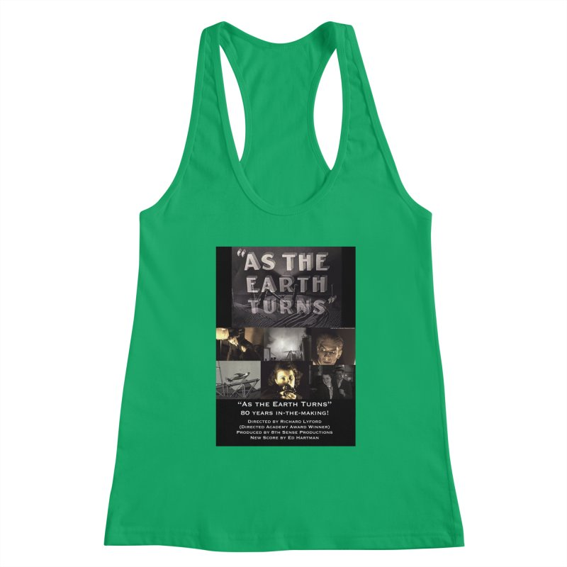 As the Earth Turns (Poster Art) Women's Tank by EdHartmanMusic Swag Shop!
