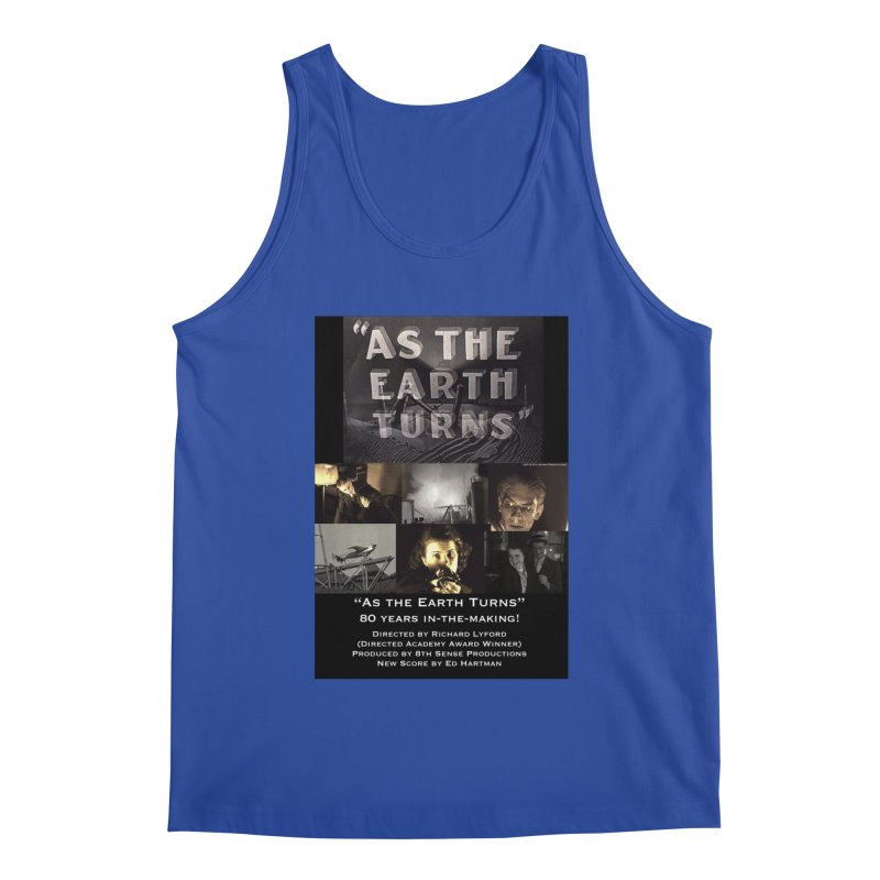 As the Earth Turns (Poster Art) Men's Tank by EdHartmanMusic Swag Shop!