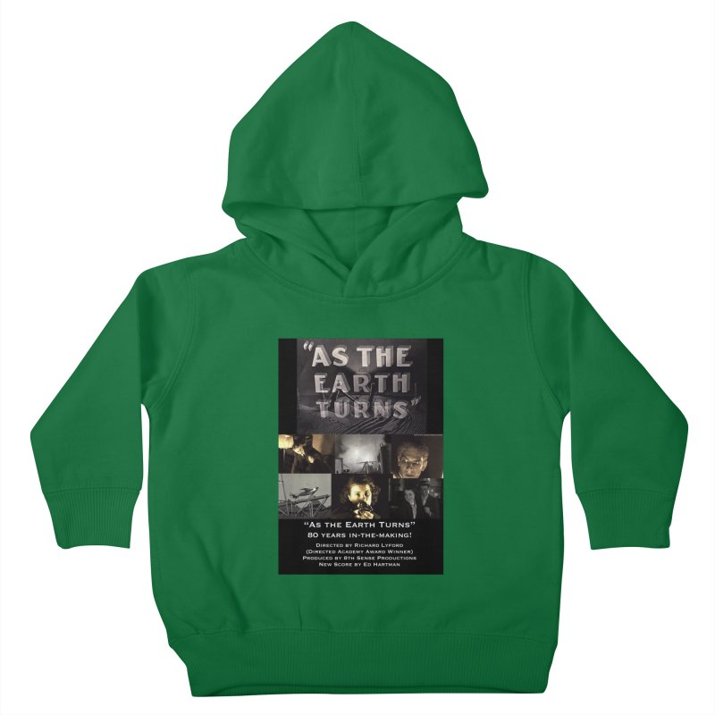 As the Earth Turns (Poster Art) Kids Toddler Pullover Hoody by EdHartmanMusic Swag Shop!
