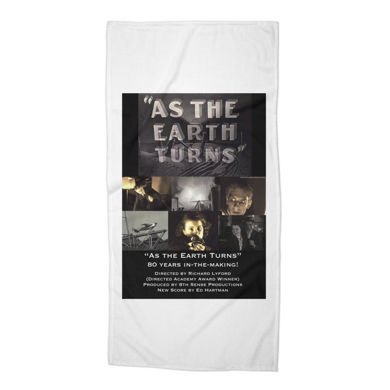 As the Earth Turns (Poster Art) Accessories Beach Towel by EdHartmanMusic Swag Shop!