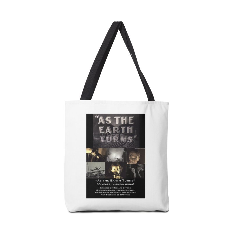 As the Earth Turns (Poster Art) Accessories Bag by EdHartmanMusic Swag Shop!