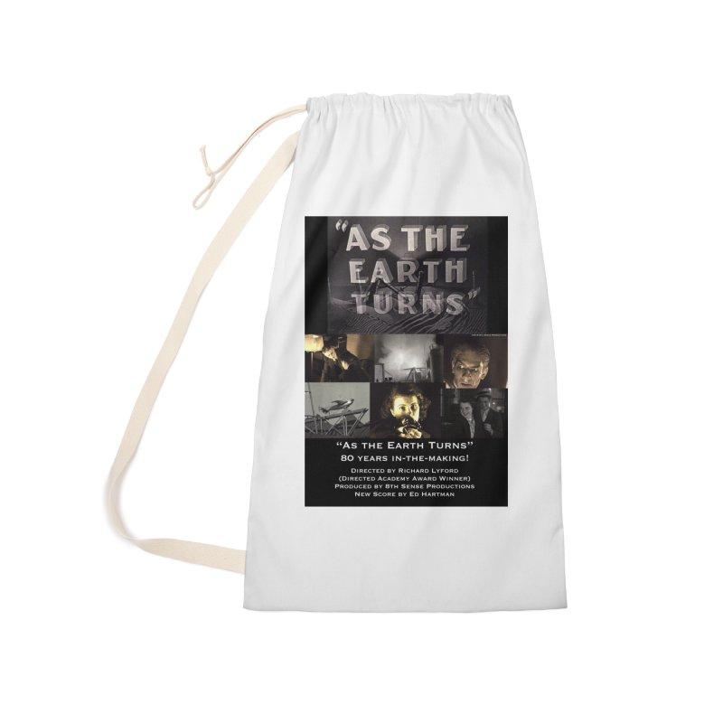 As the Earth Turns (Poster Art) Accessories Laundry Bag Bag by EdHartmanMusic Swag Shop!