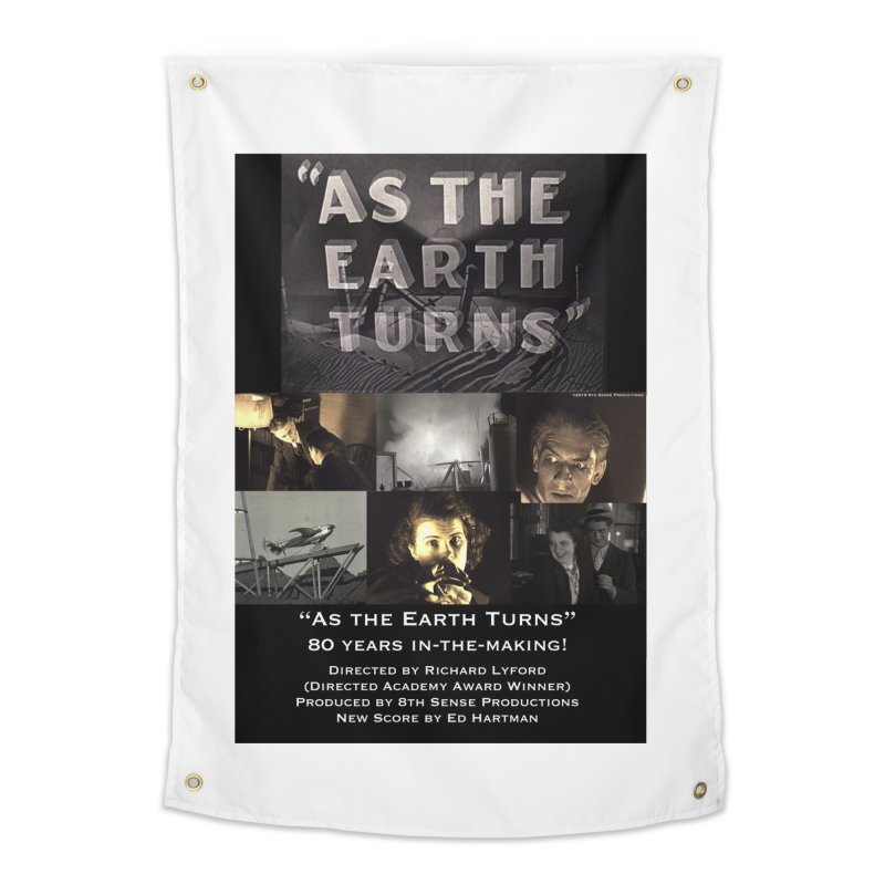 As the Earth Turns (Poster Art) Home Tapestry by EdHartmanMusic Swag Shop!
