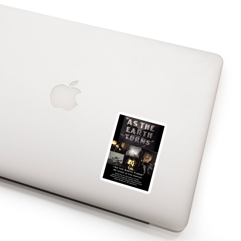 As the Earth Turns (Poster Art) Accessories Sticker by EdHartmanMusic Swag Shop!