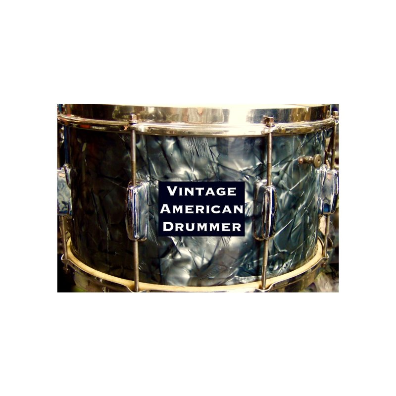 Vintage American Drummer Mask Accessories Greeting Card by EdHartmanMusic Swag Shop!