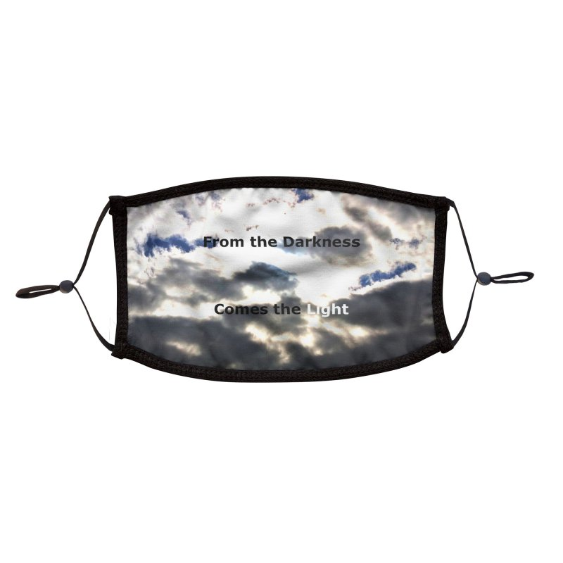 From the Darkness Comes the Light Mask Accessories Face Mask by EdHartmanMusic Swag Shop!