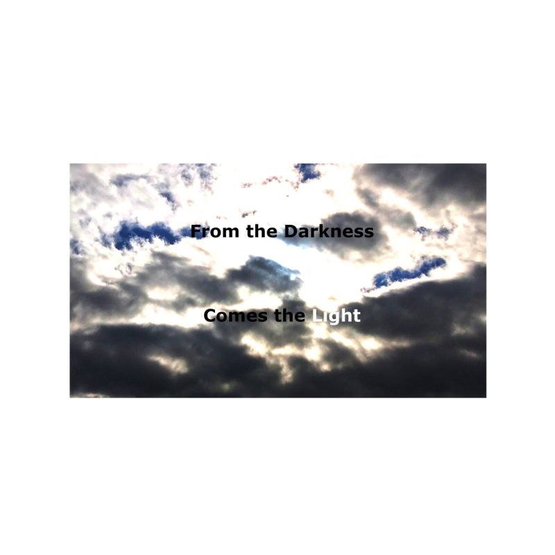 From the Darkness Comes the Light Mask Accessories Greeting Card by EdHartmanMusic Swag Shop!