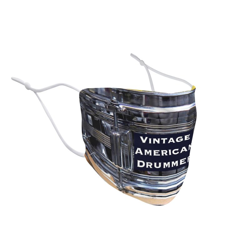 Vintage Amercan Drummer (C.O.B. Snare) Accessories Face Mask by EdHartmanMusic Swag Shop!
