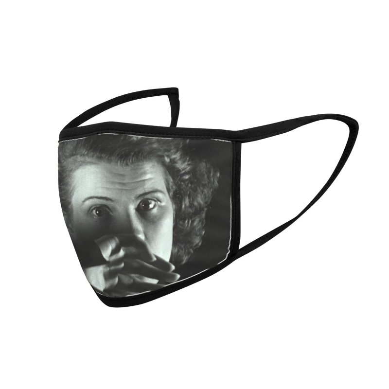 As the Earth Turns (Julie) Mask Accessories Face Mask by EdHartmanMusic Swag Shop!