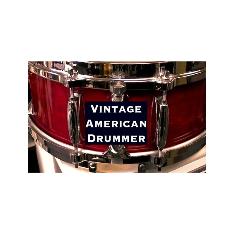 Vintage American Drummer (Vintage Wood Snare Drum) Accessories Face Mask by EdHartmanMusic Swag Shop!