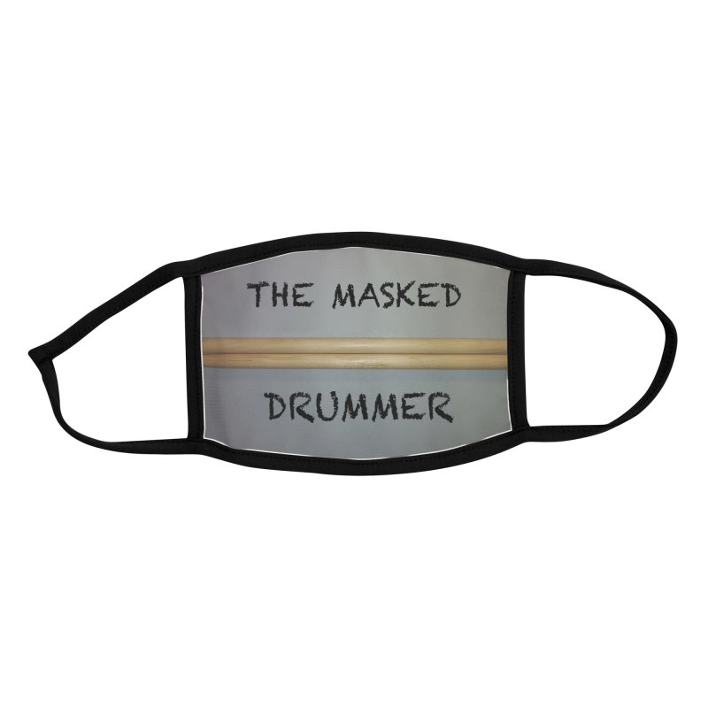 The Masked Drummer! Accessories Face Mask by EdHartmanMusic Swag Shop!