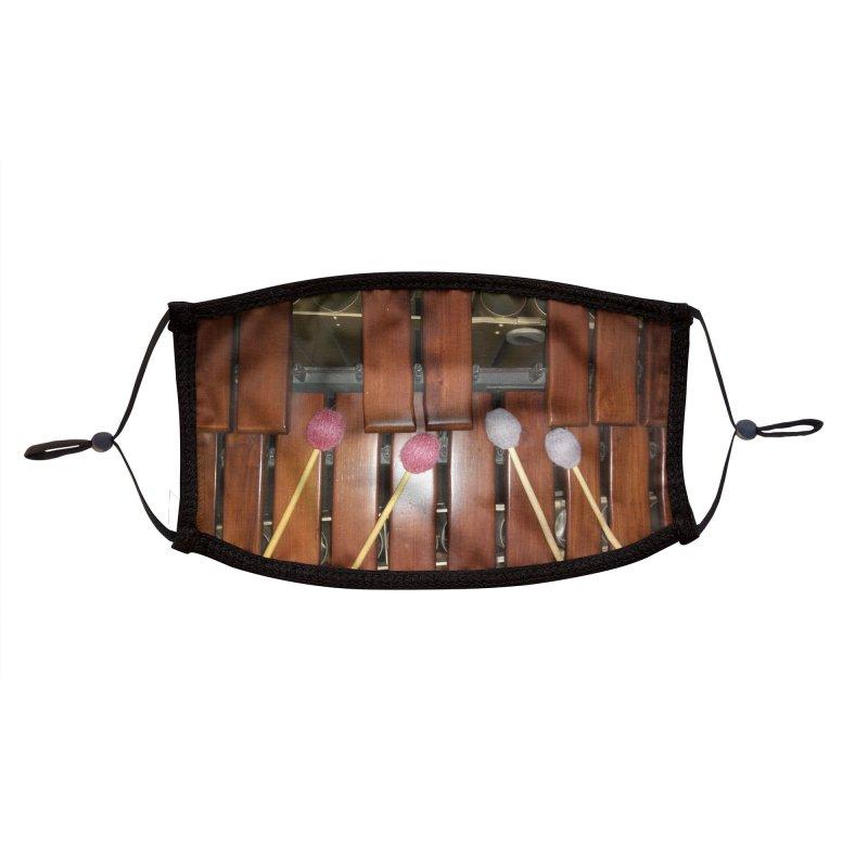 Marimba Mask! Accessories Face Mask by EdHartmanMusic Swag Shop!