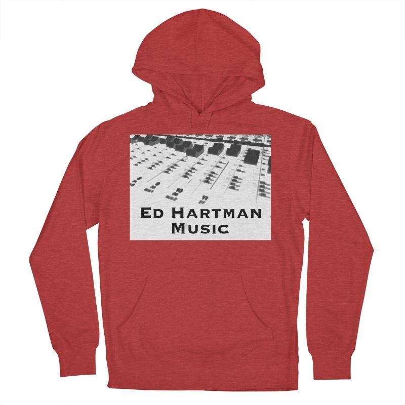 Ed Hartman Music LOGO Men's French Terry Pullover Hoody by EdHartmanMusic Swag Shop!
