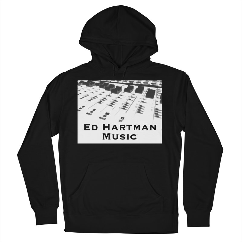 Ed Hartman Music LOGO Men's French Terry Pullover Hoody by EdHartmanMusic Swag Shop!