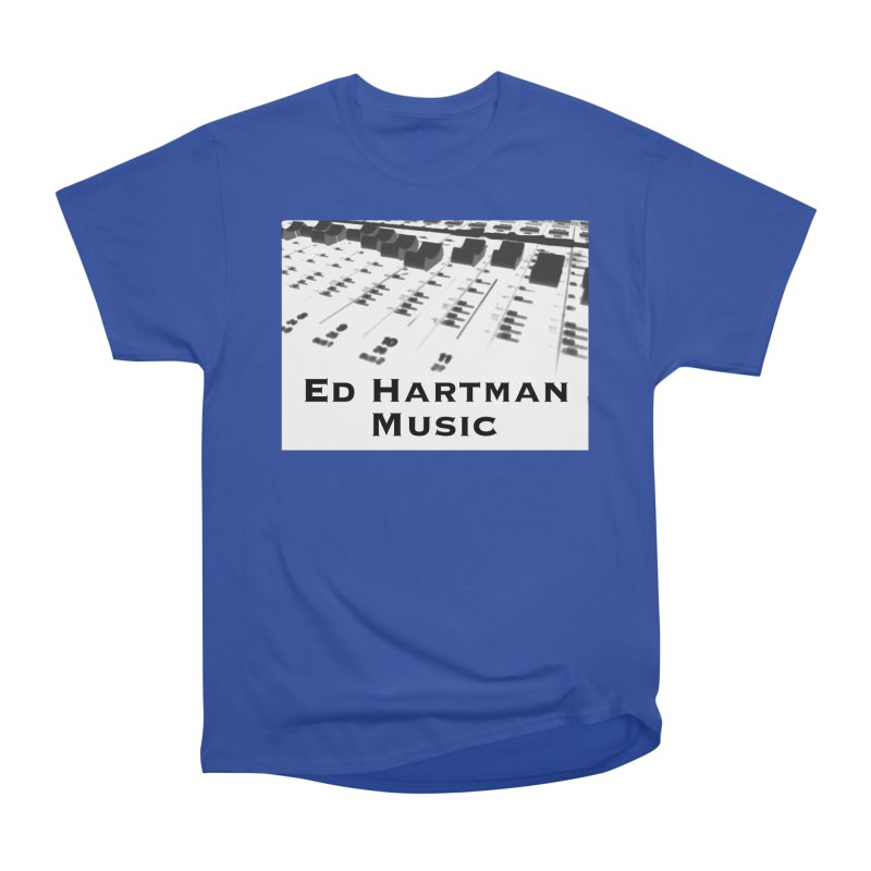Ed Hartman Music LOGO Men's Heavyweight T-Shirt by EdHartmanMusic Swag Shop!